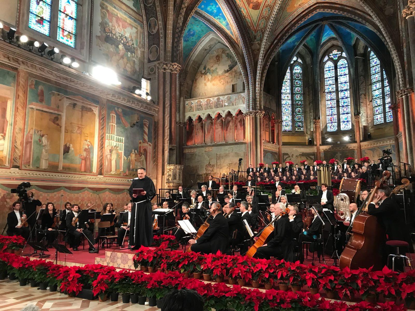 Concerto Assisi, su Rai1 a Natale