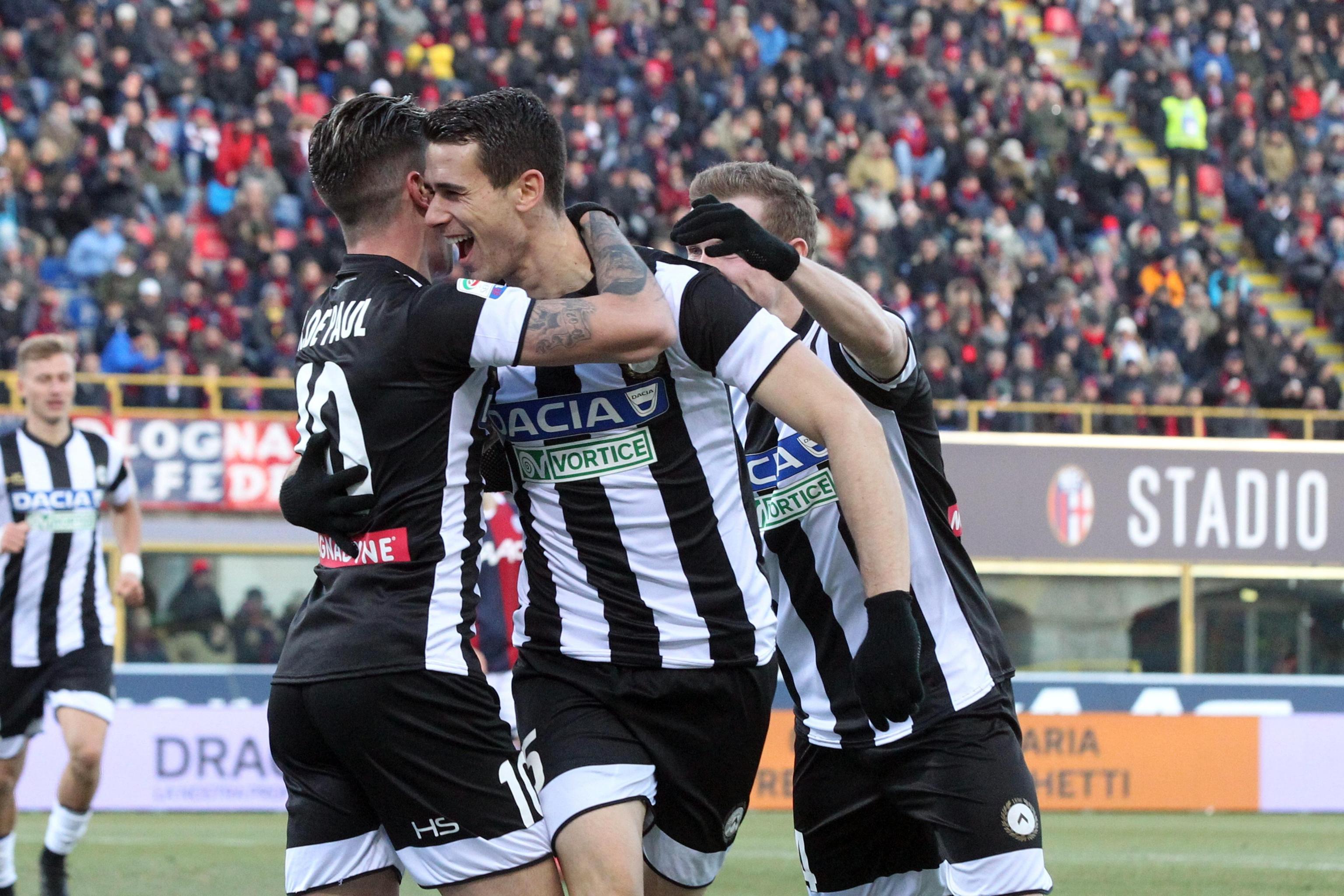 Serie A: Bologna-Udinese 1-2