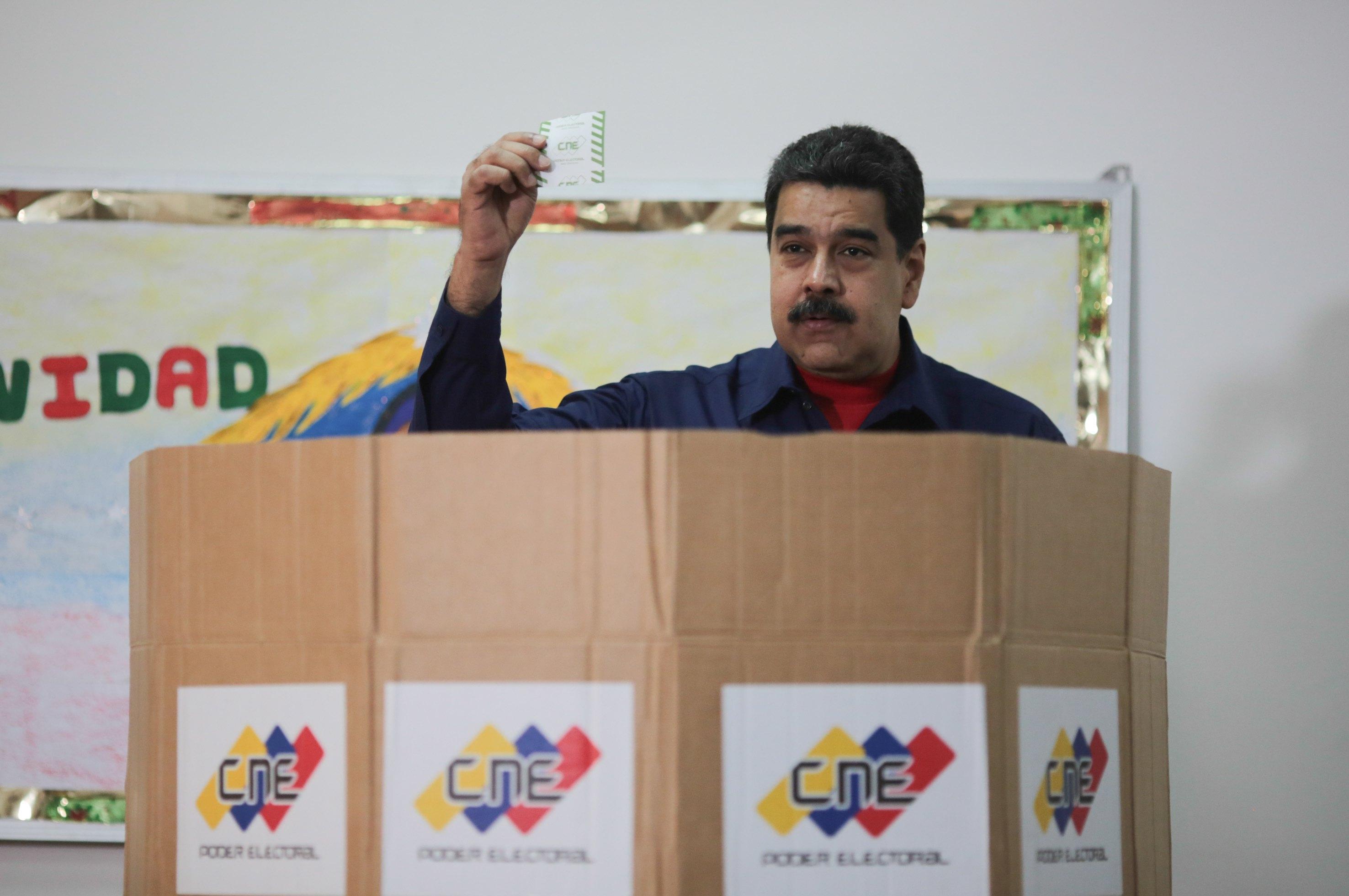 Maduro vince comunali senza opposizione