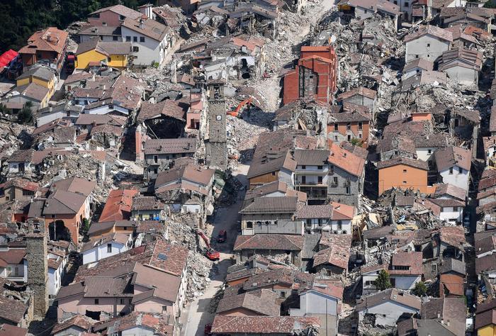 Terremoto vicino ad Amatrice, scossa avvertita anche a Roma