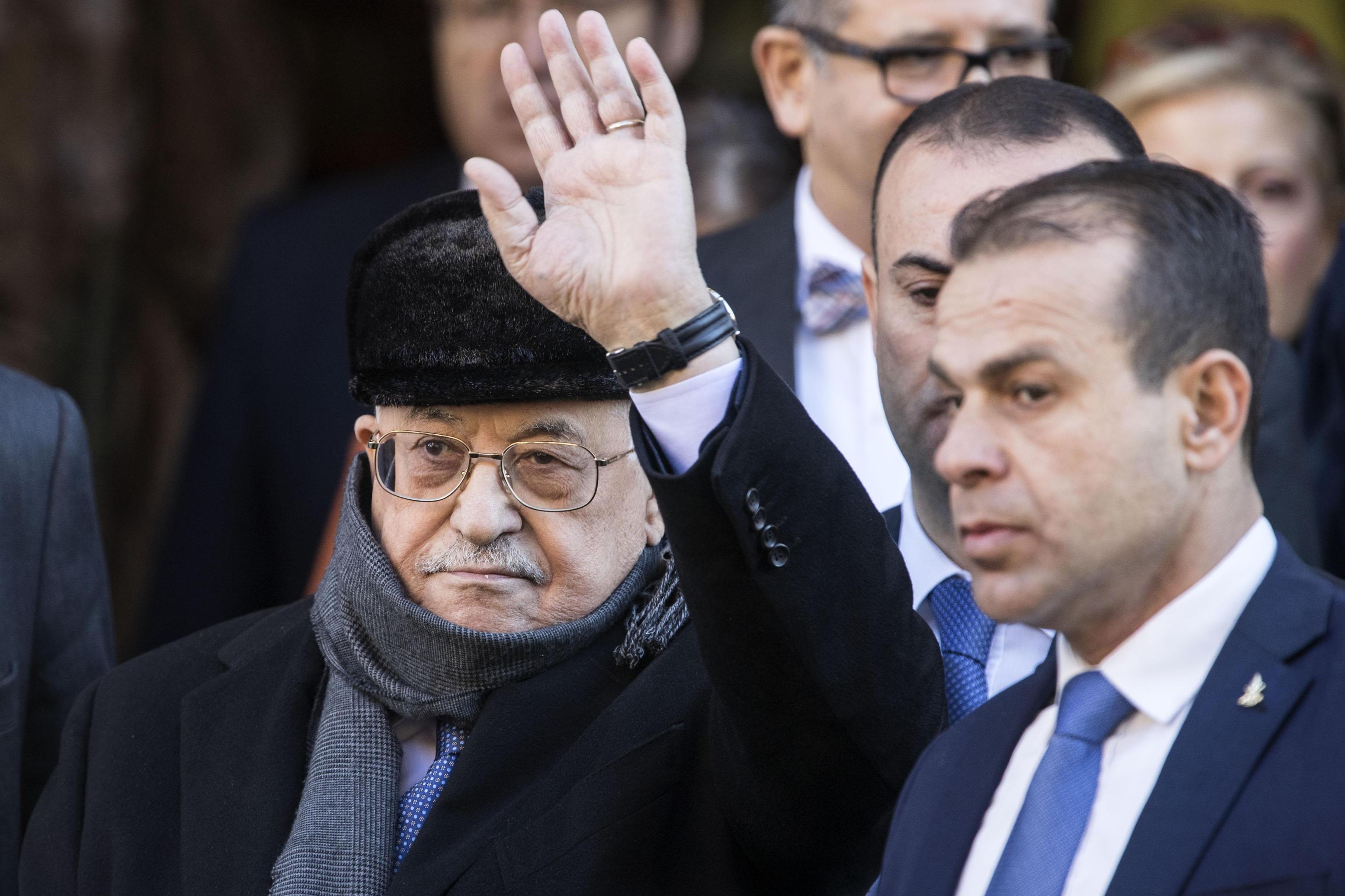 Abu Mazen a Consiglio Ue gennaio