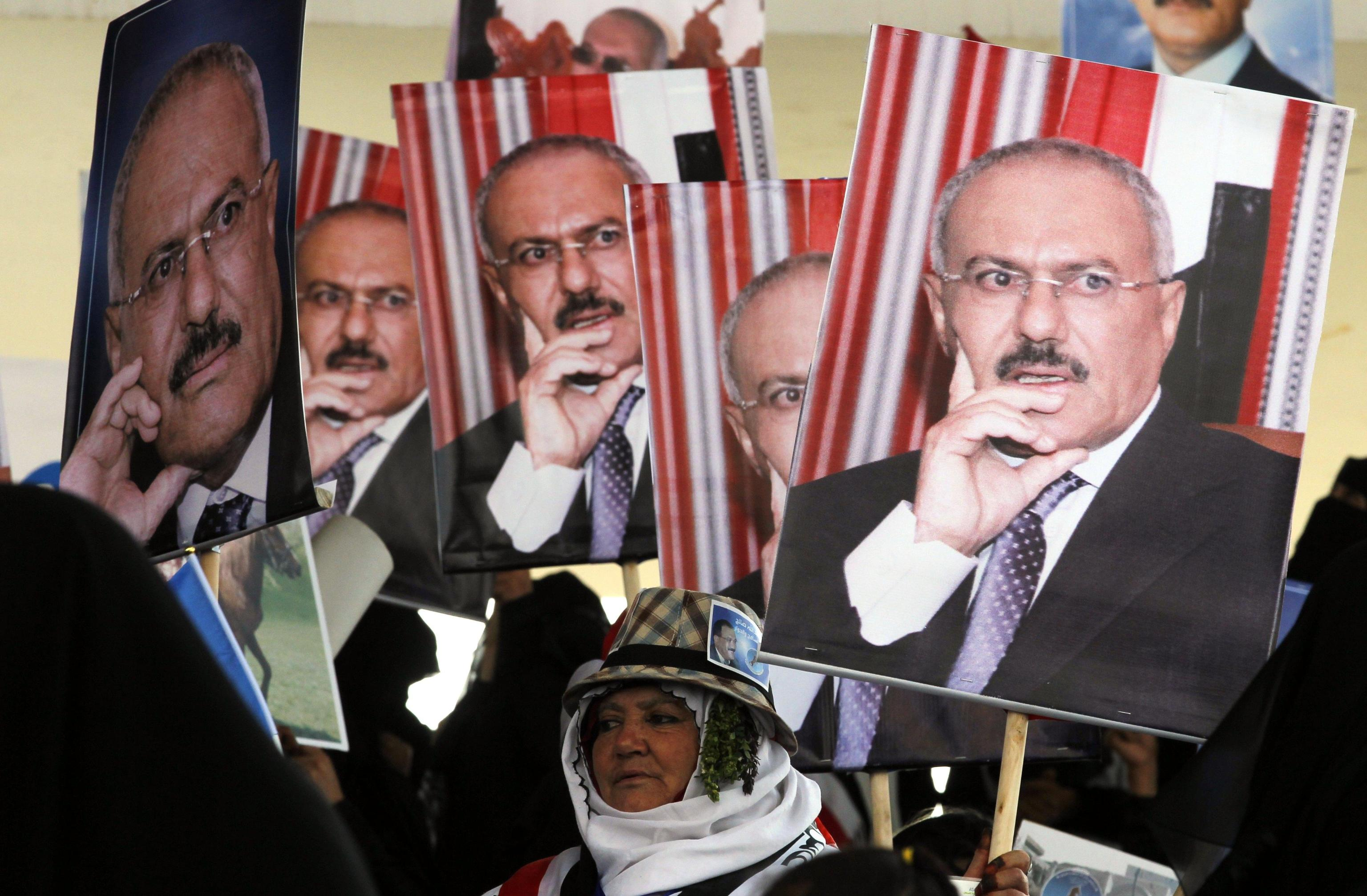 Forze Saleh conquistano aeroporto Sanaa