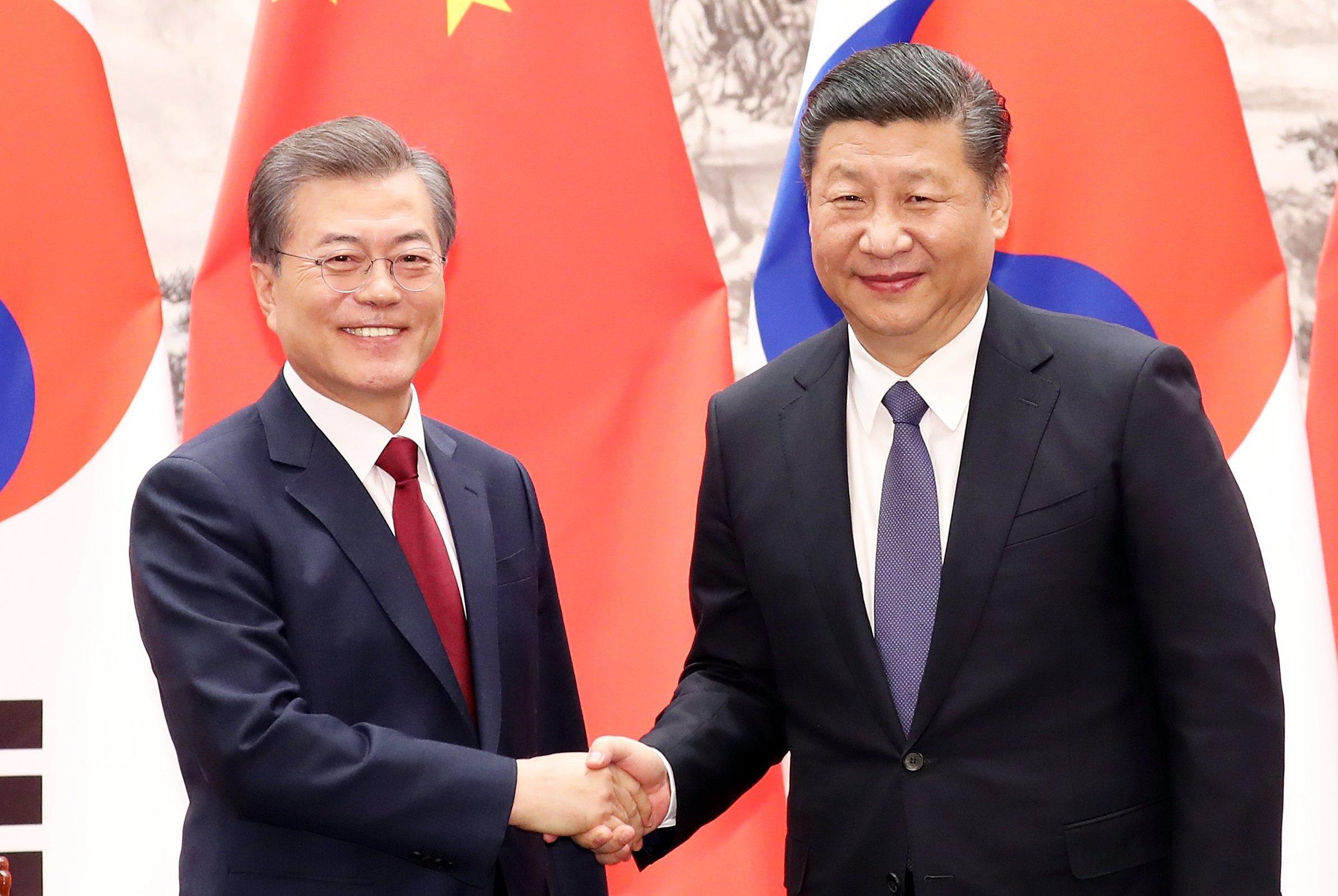 Corea Nord: Xi e Moon, mai più guerre