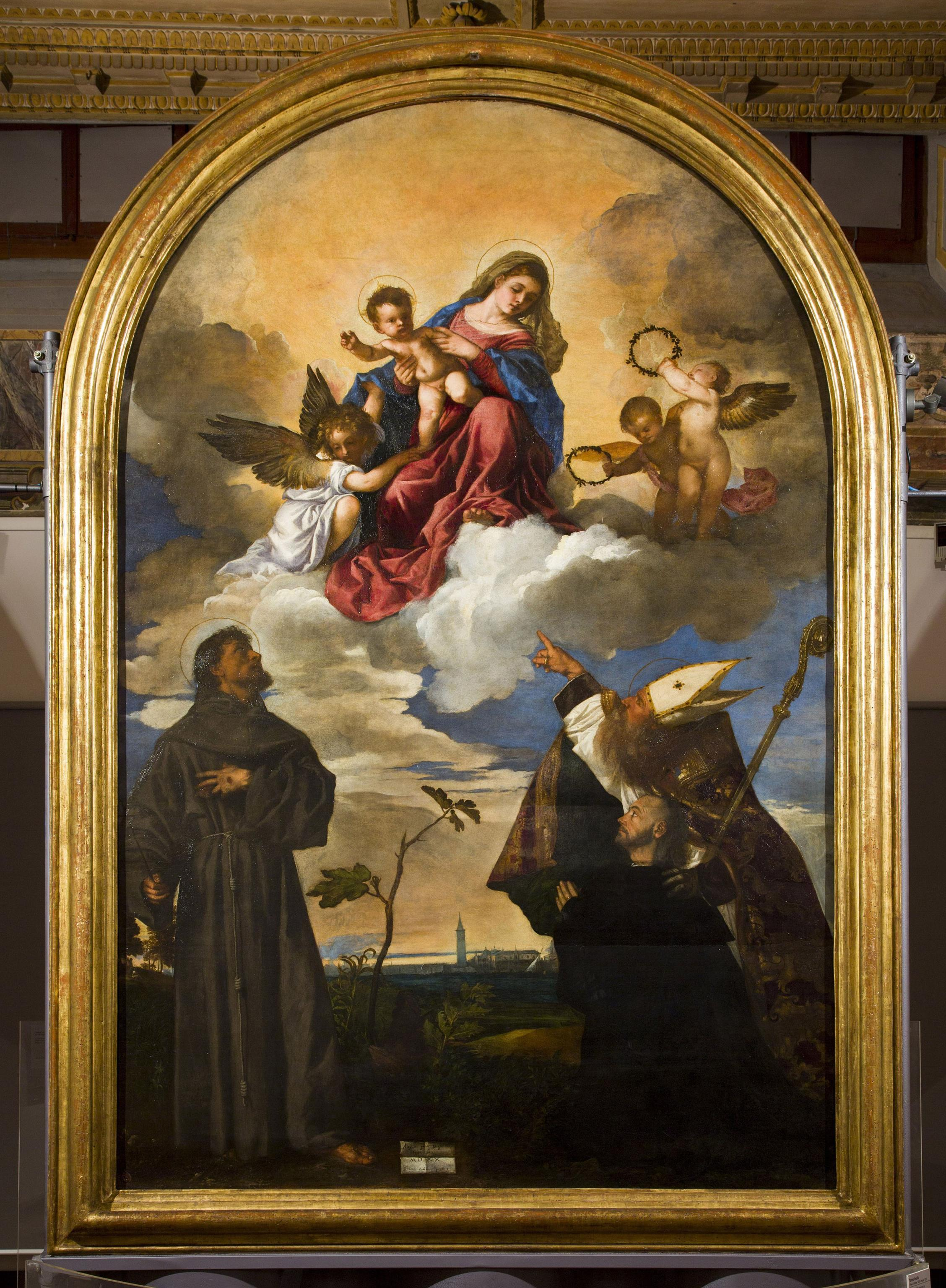 A Milano la Pala Gozzi di Tiziano