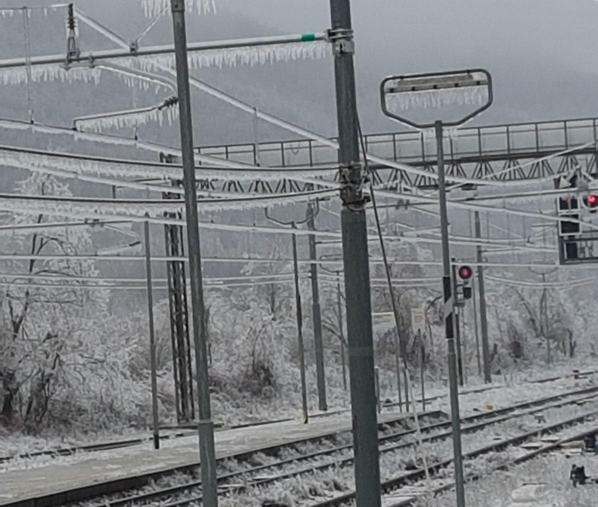 Maltempo, traffico ferroviario critico