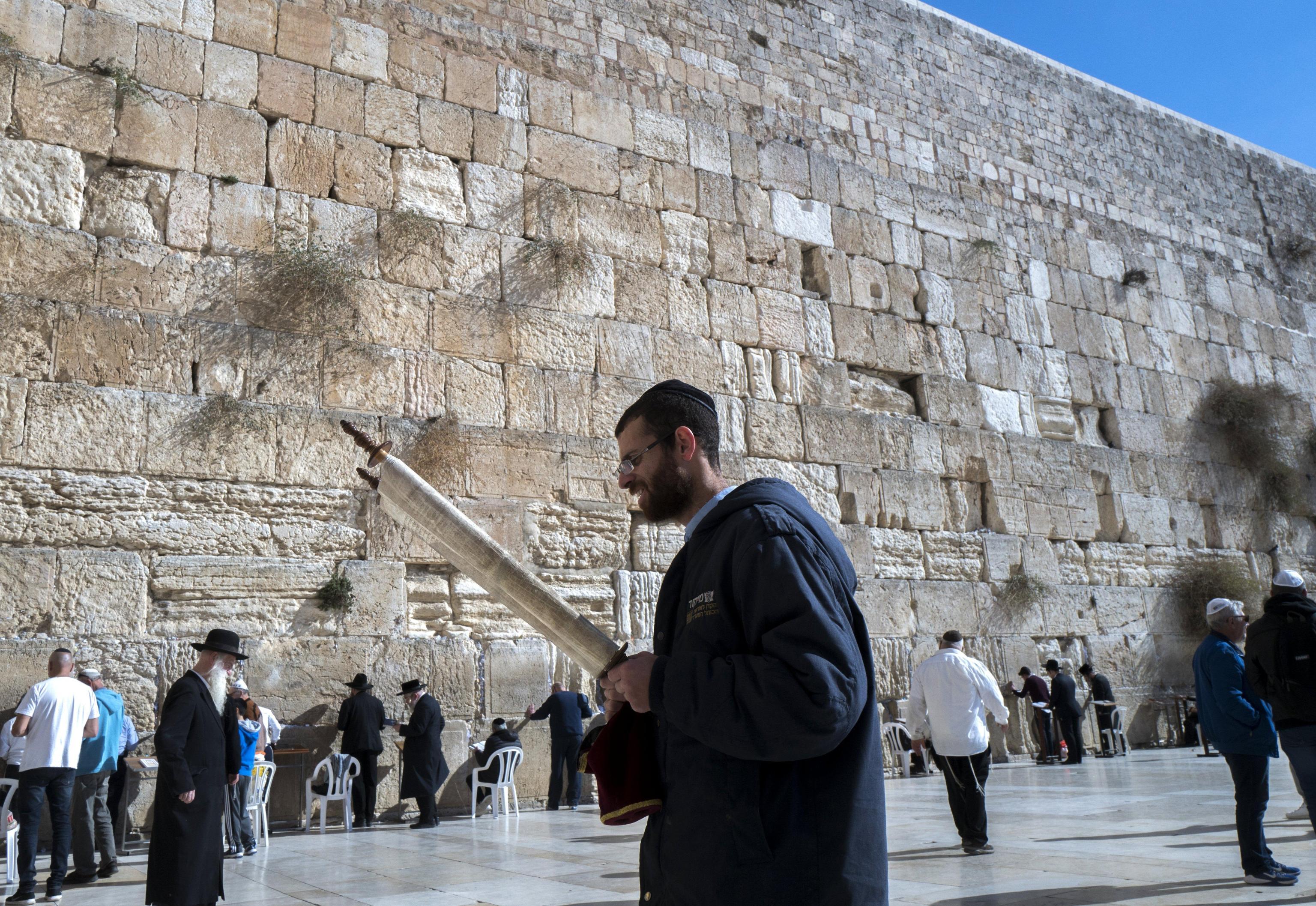 Fonti Casa Bianca, Muro parte di Israele