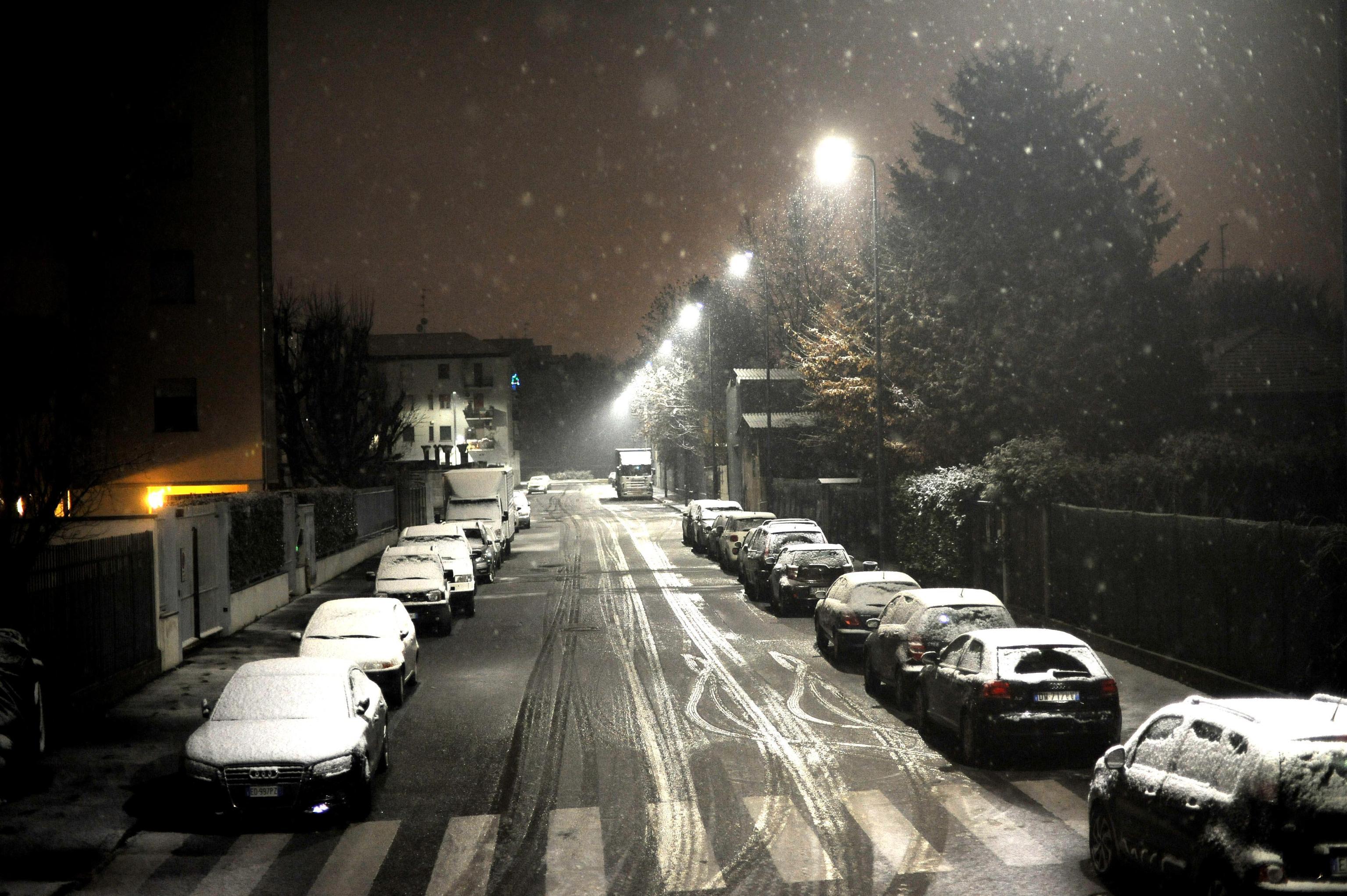 Maltempo: Lombardia,media criticità neve
