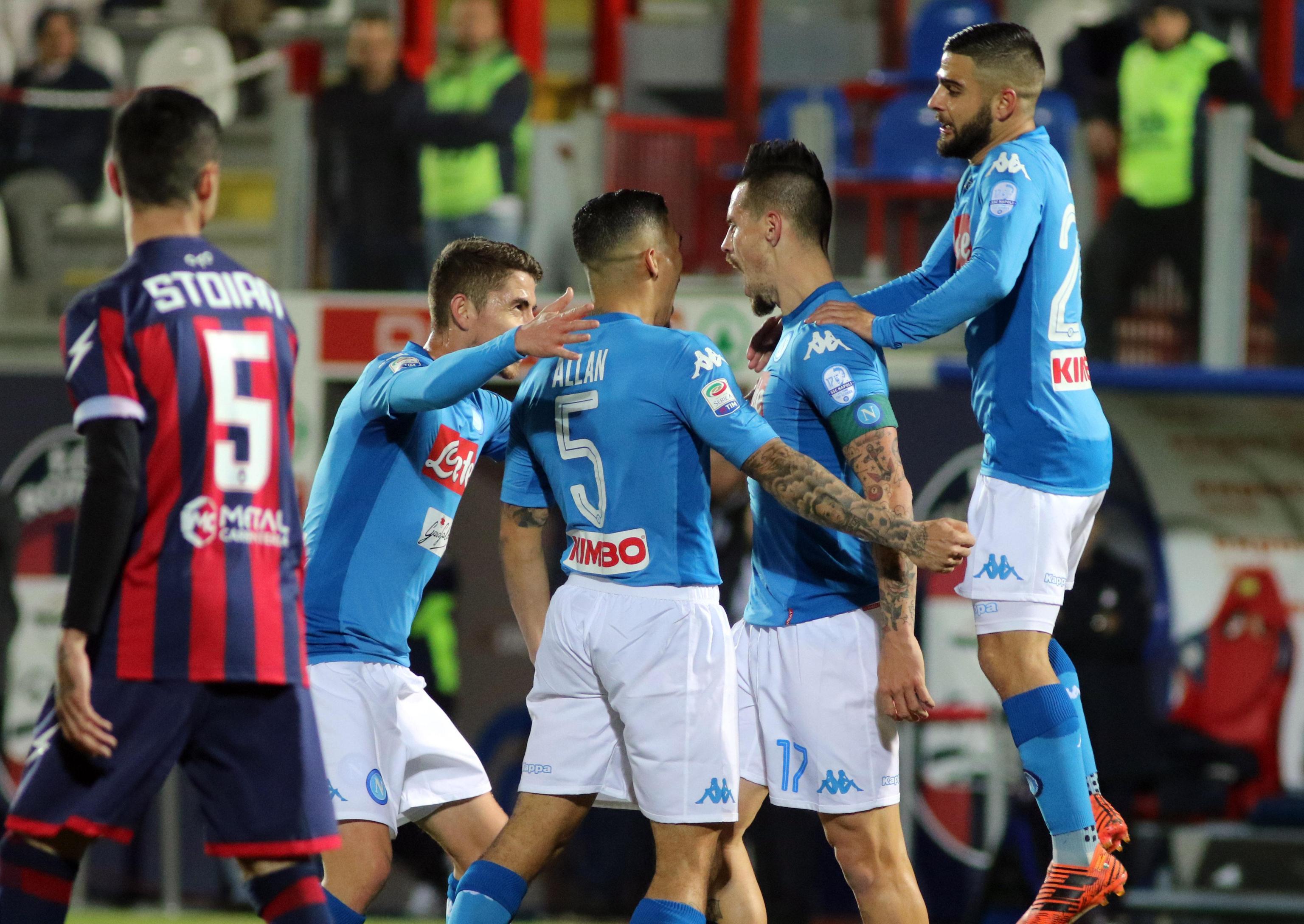 Crotone-Napoli 0-1