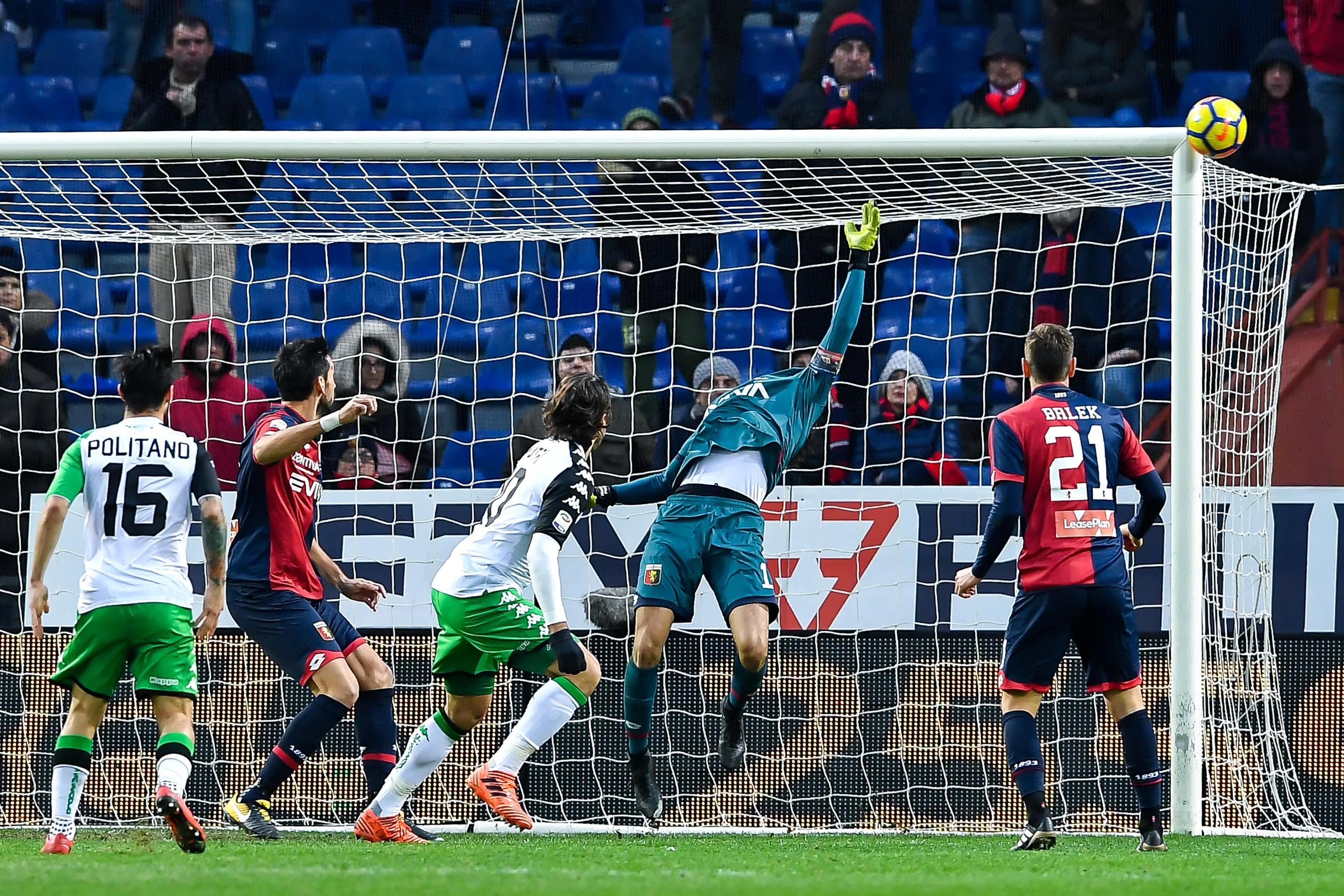 Serie A: Genoa-Sassuolo 1-0