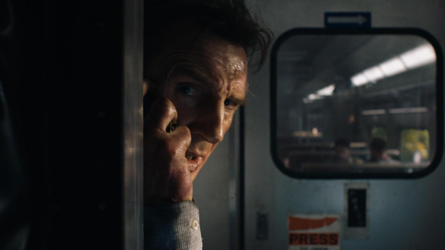 Neeson braccato sul treno della paura