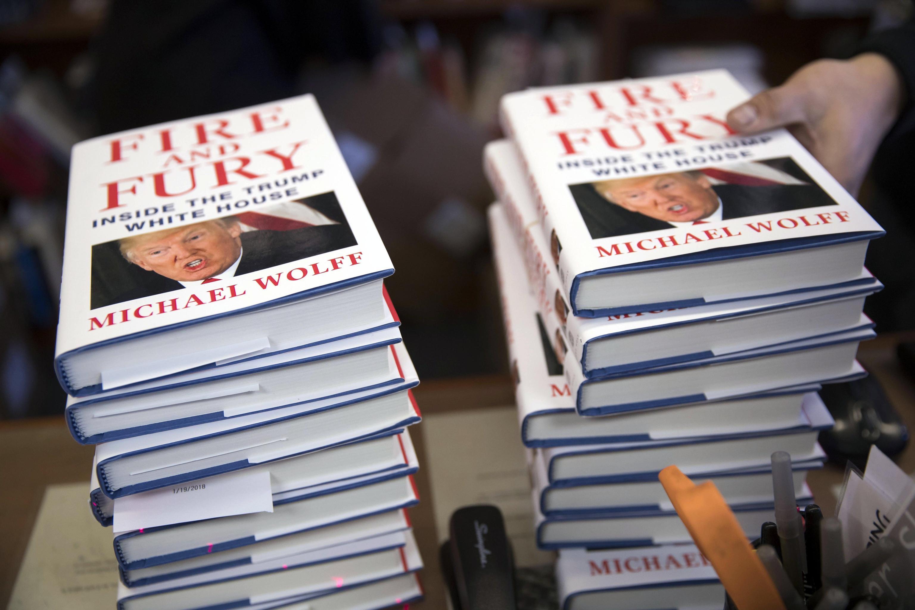 Comico su libro Wolff, copia a Mueller
