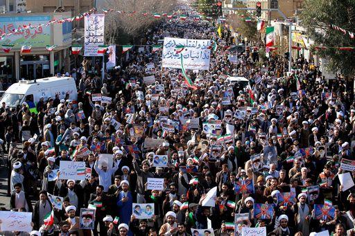 """I Guardiani della Rivoluzione (Pasdaran) annunciano la """"fine della sedizione"""""""