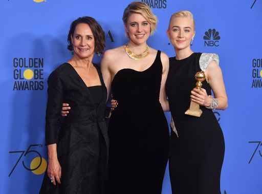 Ai Golden Globe total black vincono le storie al femminile