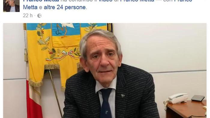 Video sindaco Cerignola su Fb a malavitosi: 'Siate maledetti'