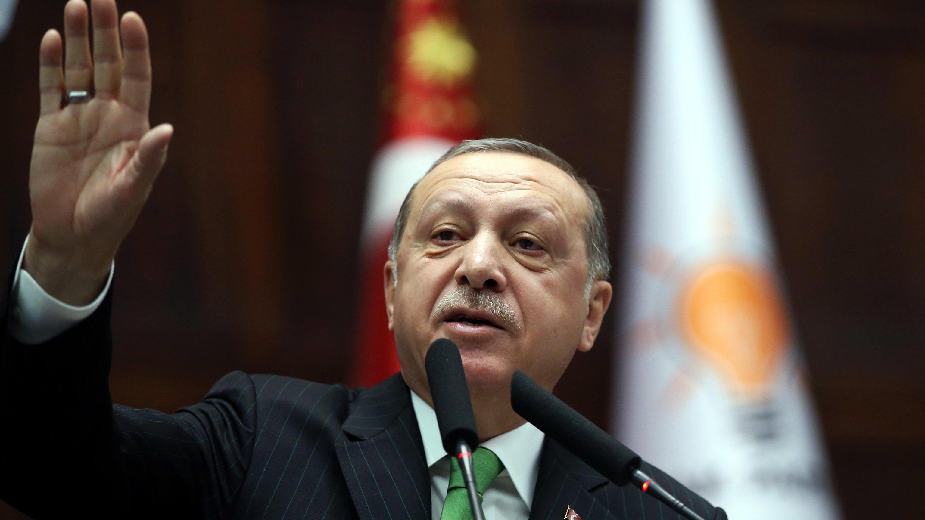 Erdogan, Onu non intervenga su curdi