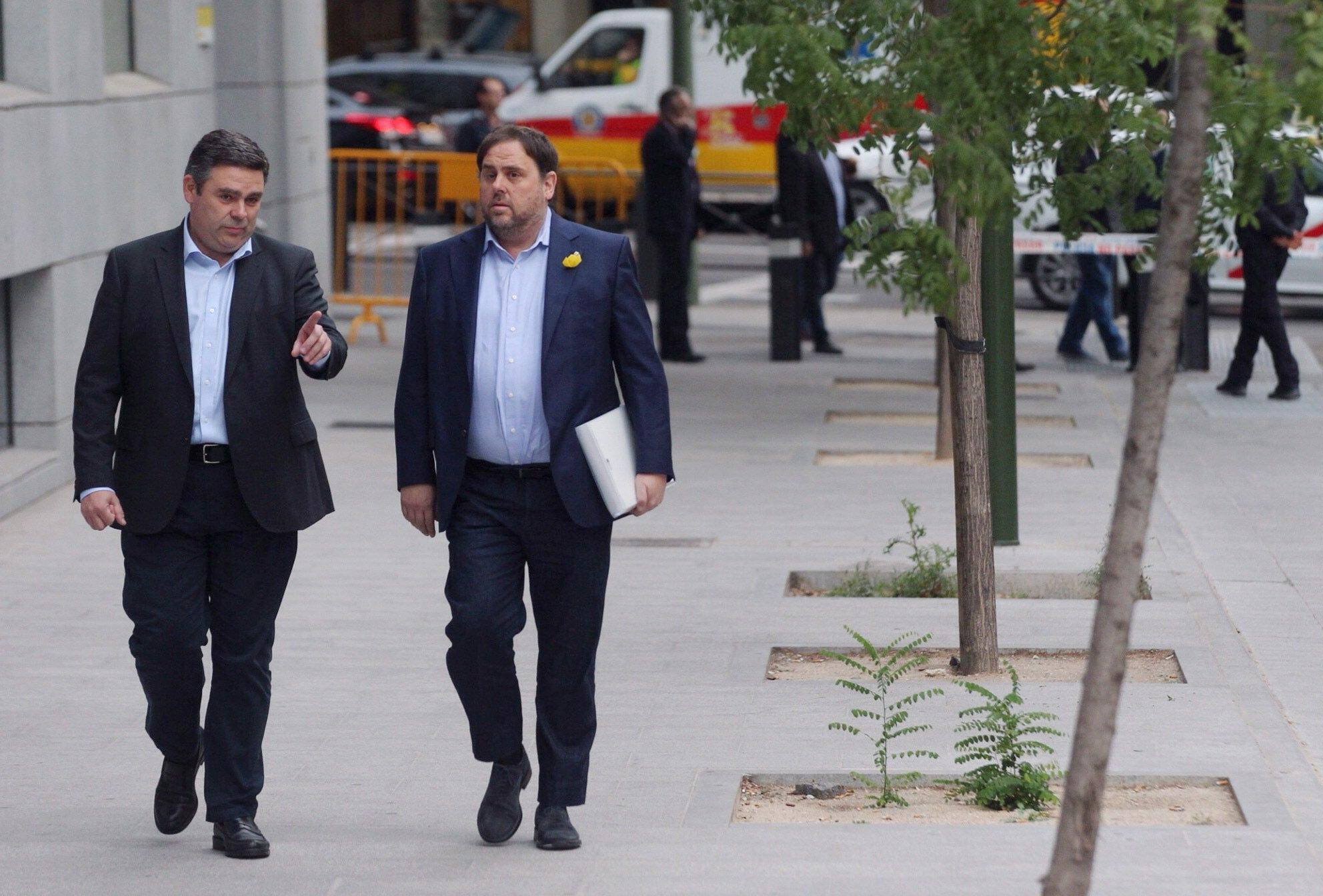 Indipendentisti catalani davanti giudice