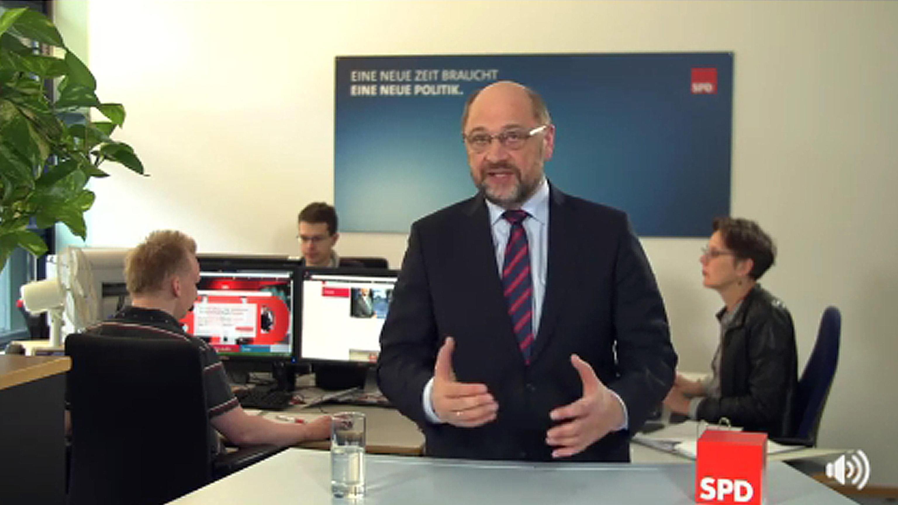 Schulz, 'ampio sostegno da Spd Baviera'