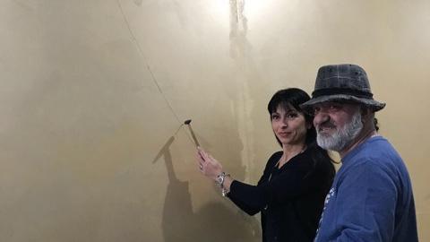 Ad Assisi quadro con 2 milioni chiodi