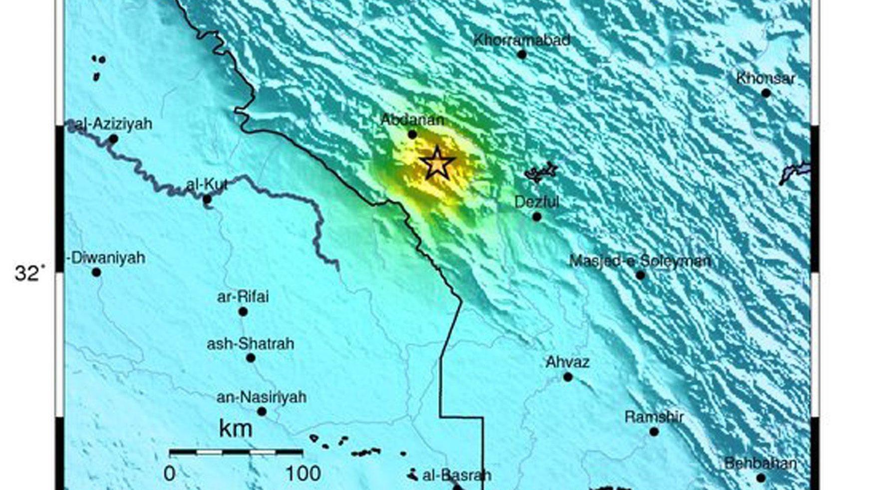 Terremoti: scossa magnitudo 5,5 in Iraq