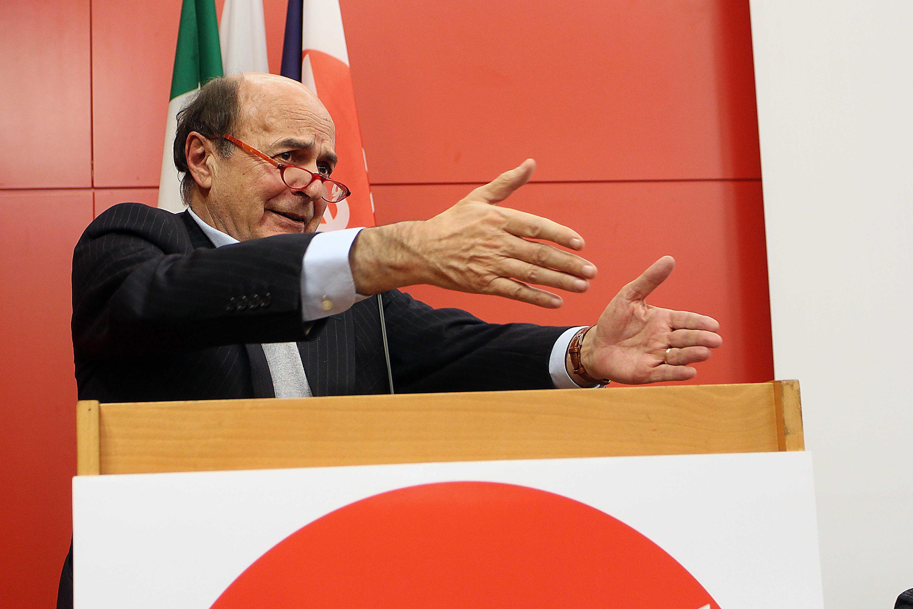Bersani,cerco accordo su Lazio-Lombardia