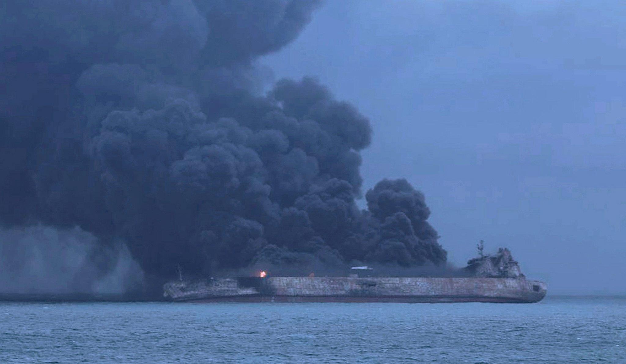Cina: affondata petroliera Iran