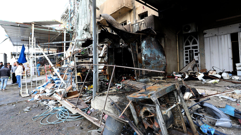 Iraq: Bagdad, duplice attacco, 25 morti