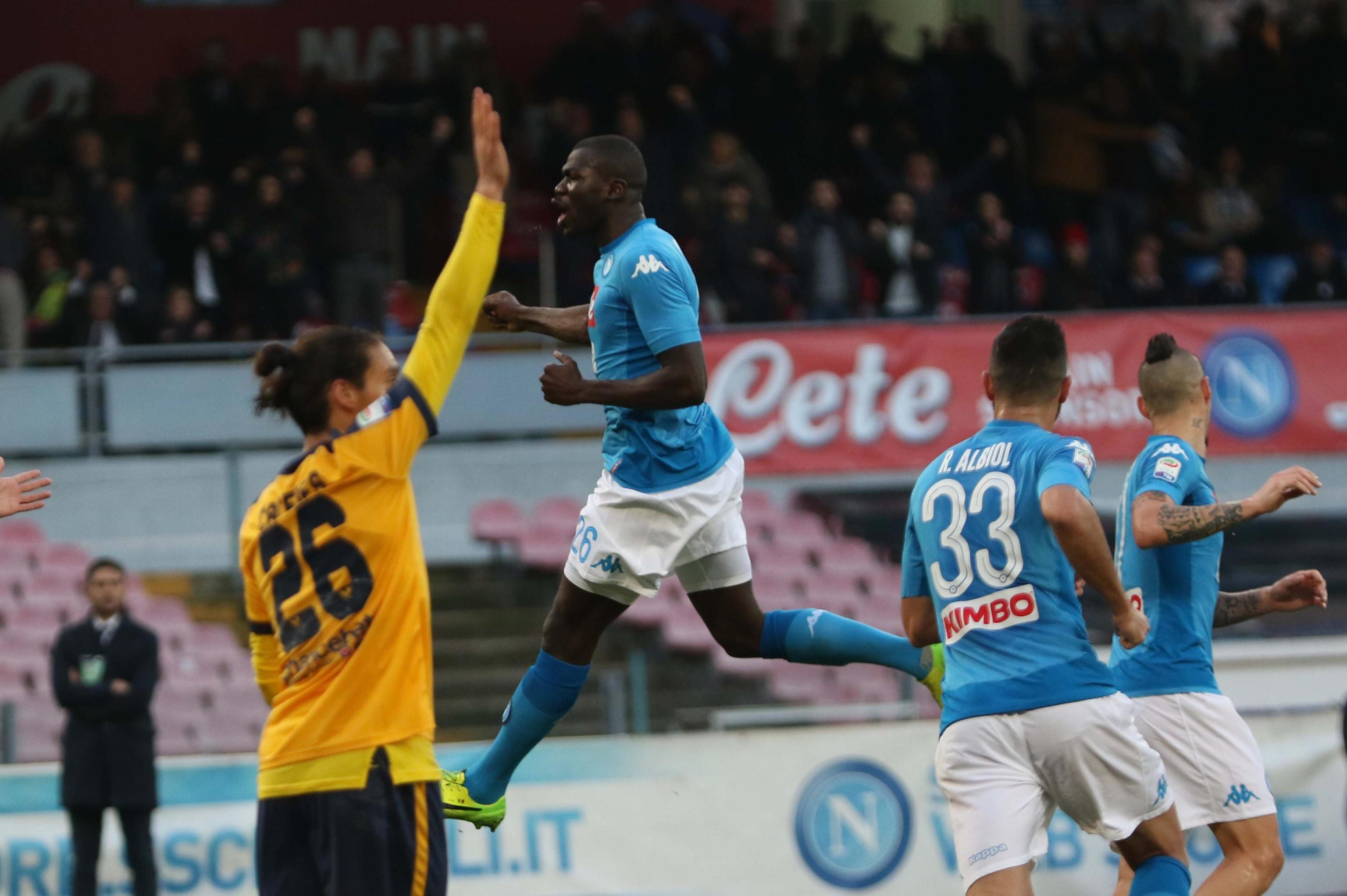 Serie A: Napoli-Verona 2-0