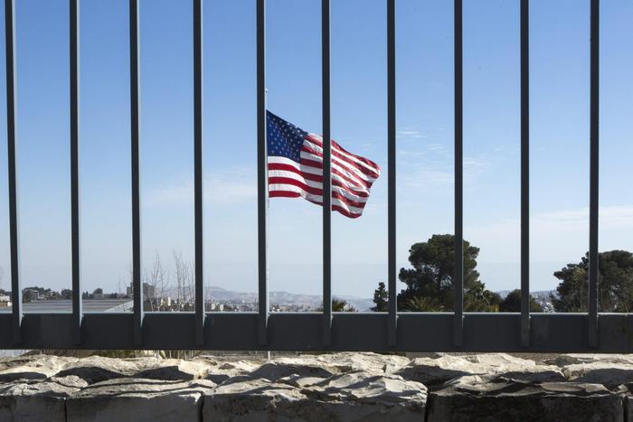 Ambasciata Usa a Gerusalemme nel 2019