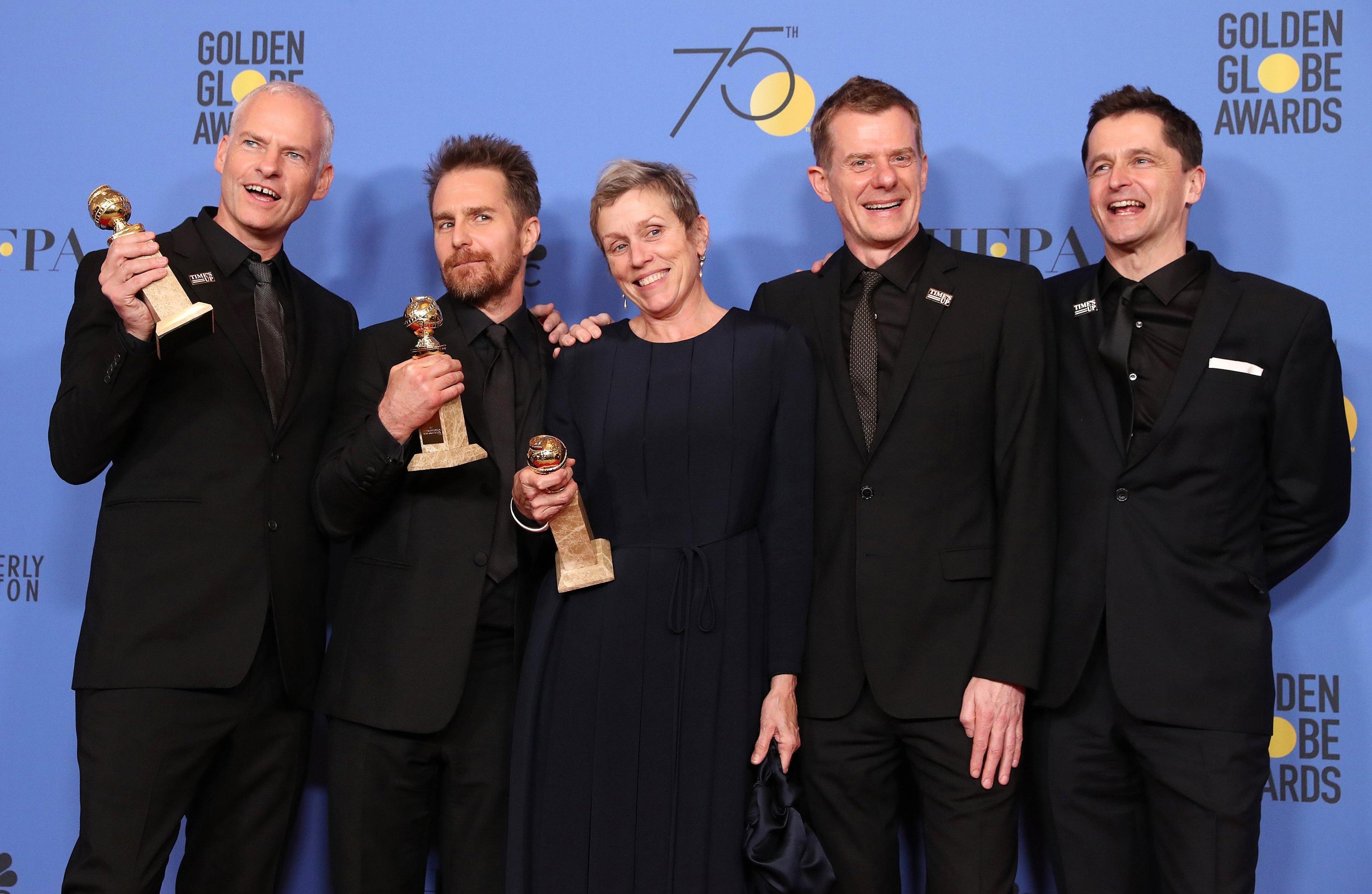Golden Globes, vince Tre Manifesti