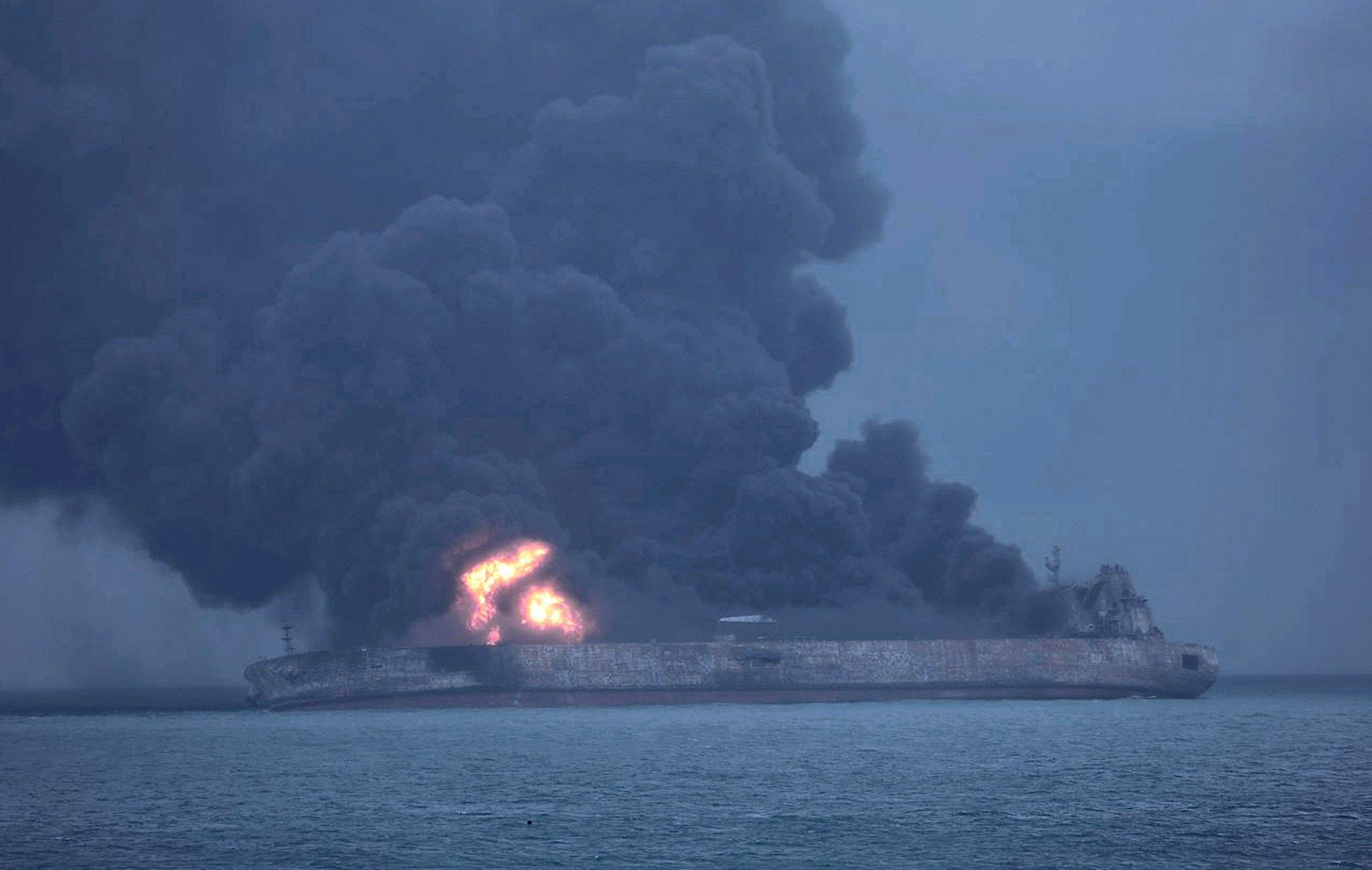 Iran,no speranze per dispersi petroliera