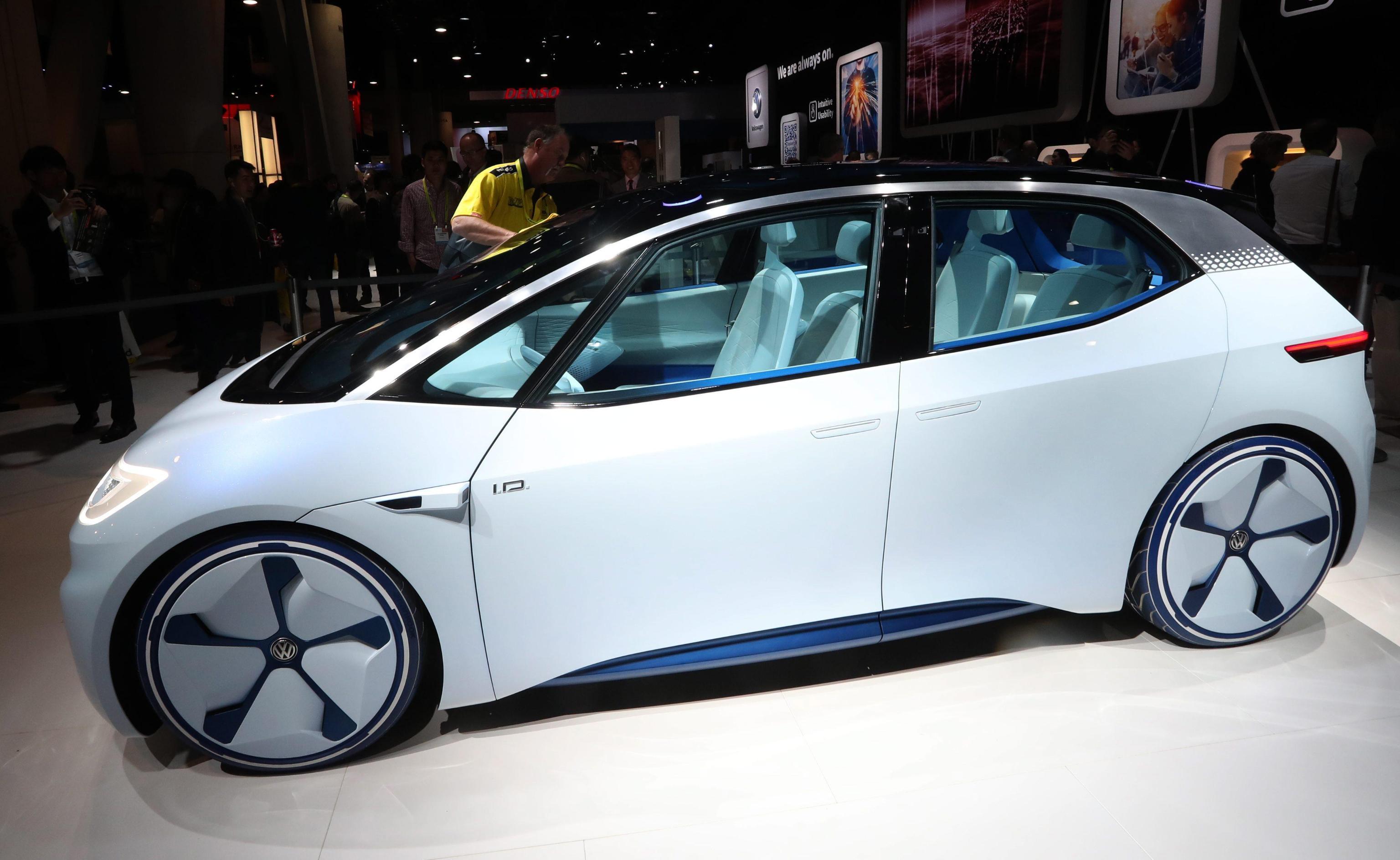 A Las Vegas le auto hi-tech del futuro