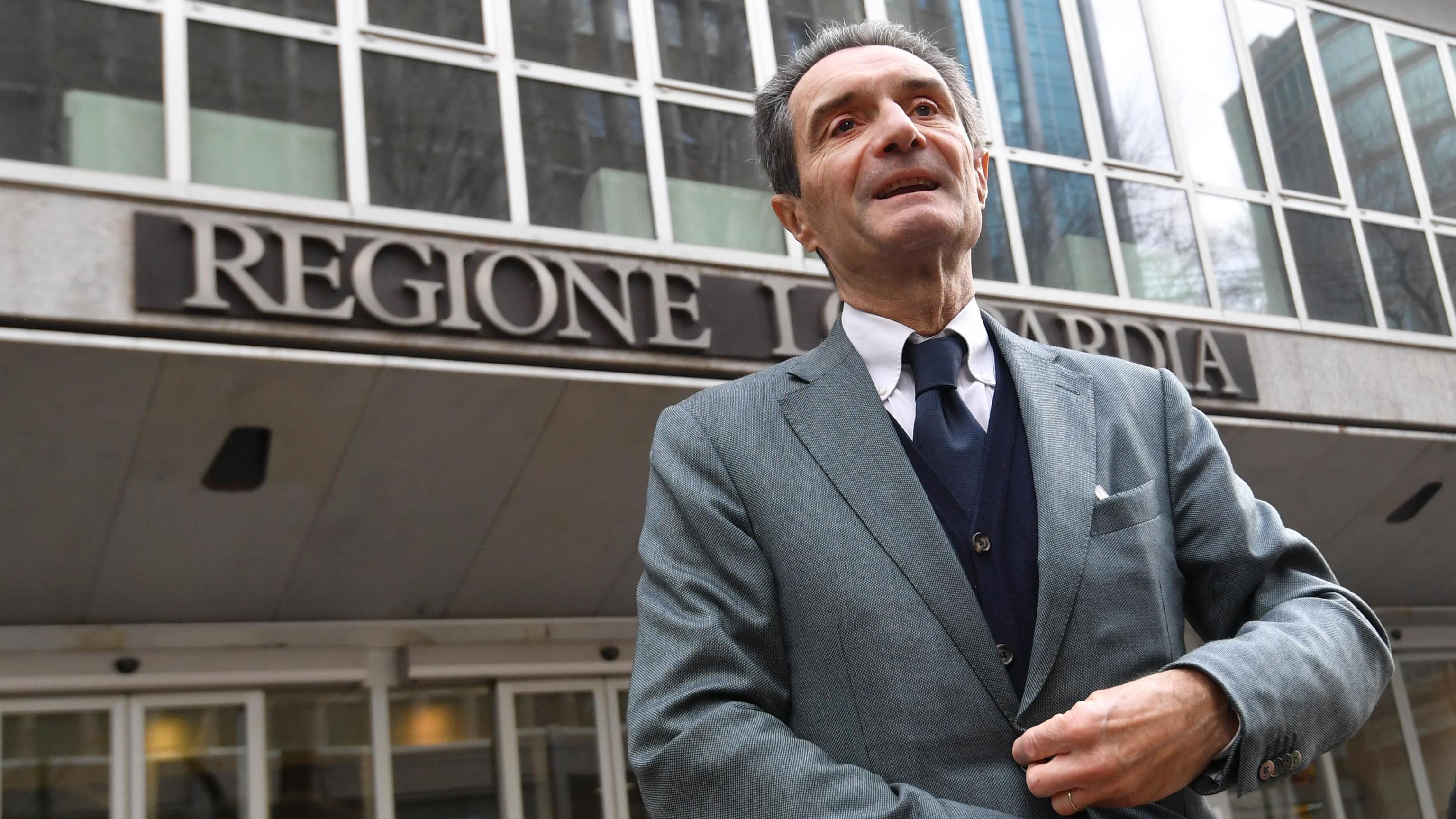 Lombardia: Fontana, ho sbagliato