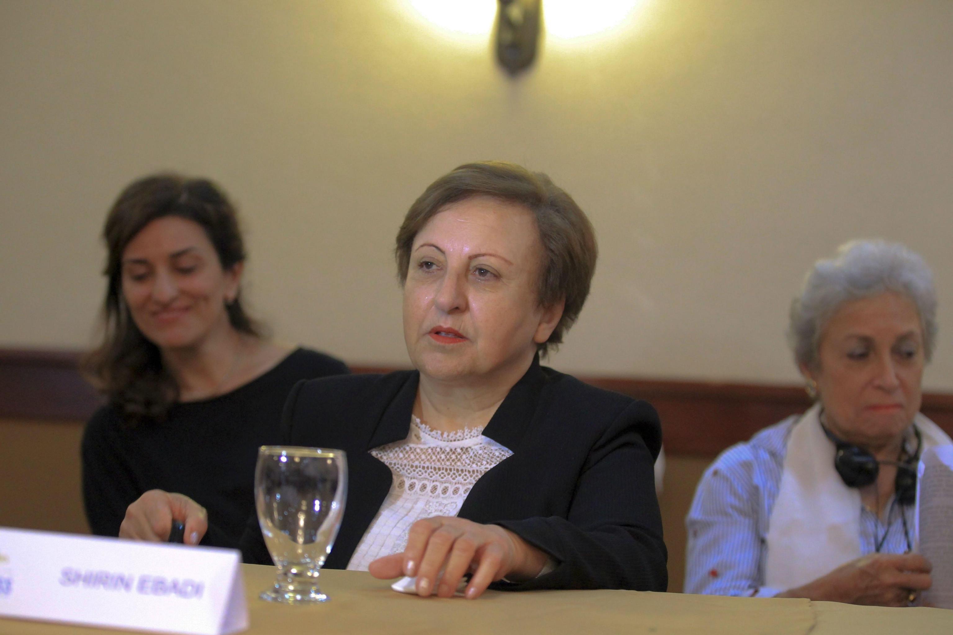 Iran: Nobel Ebadi, disobbedienza civile