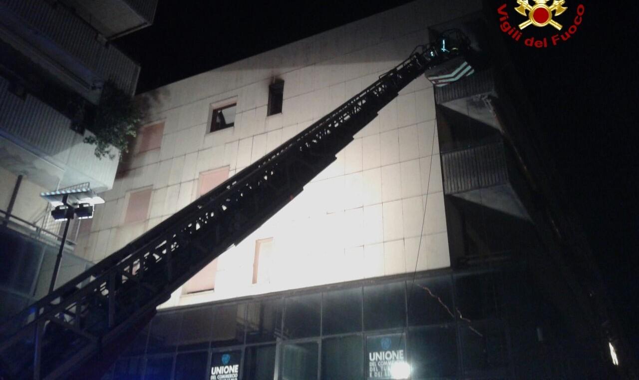 Incendio appartamento a Bassano,un morto