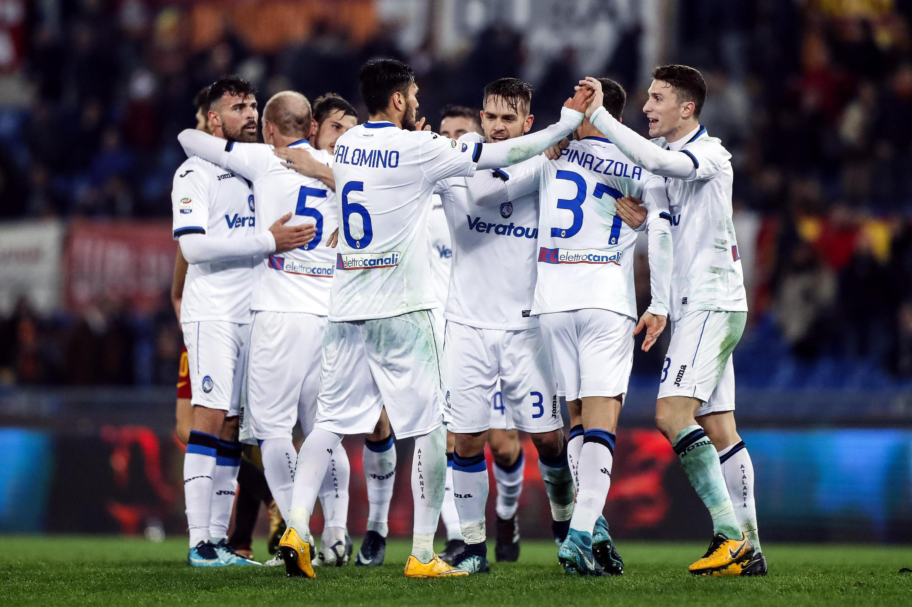 Serie A: Roma-Atalanta 1-2