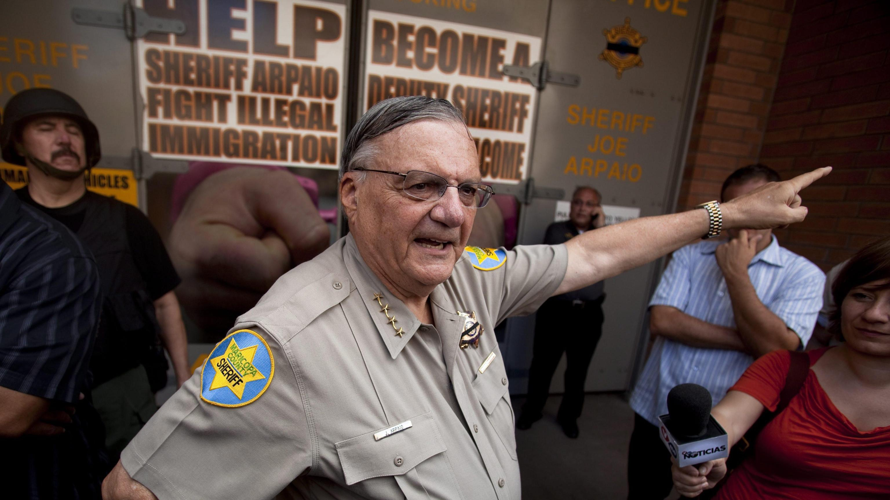 Usa: sceriffo anti-immigrati si candida