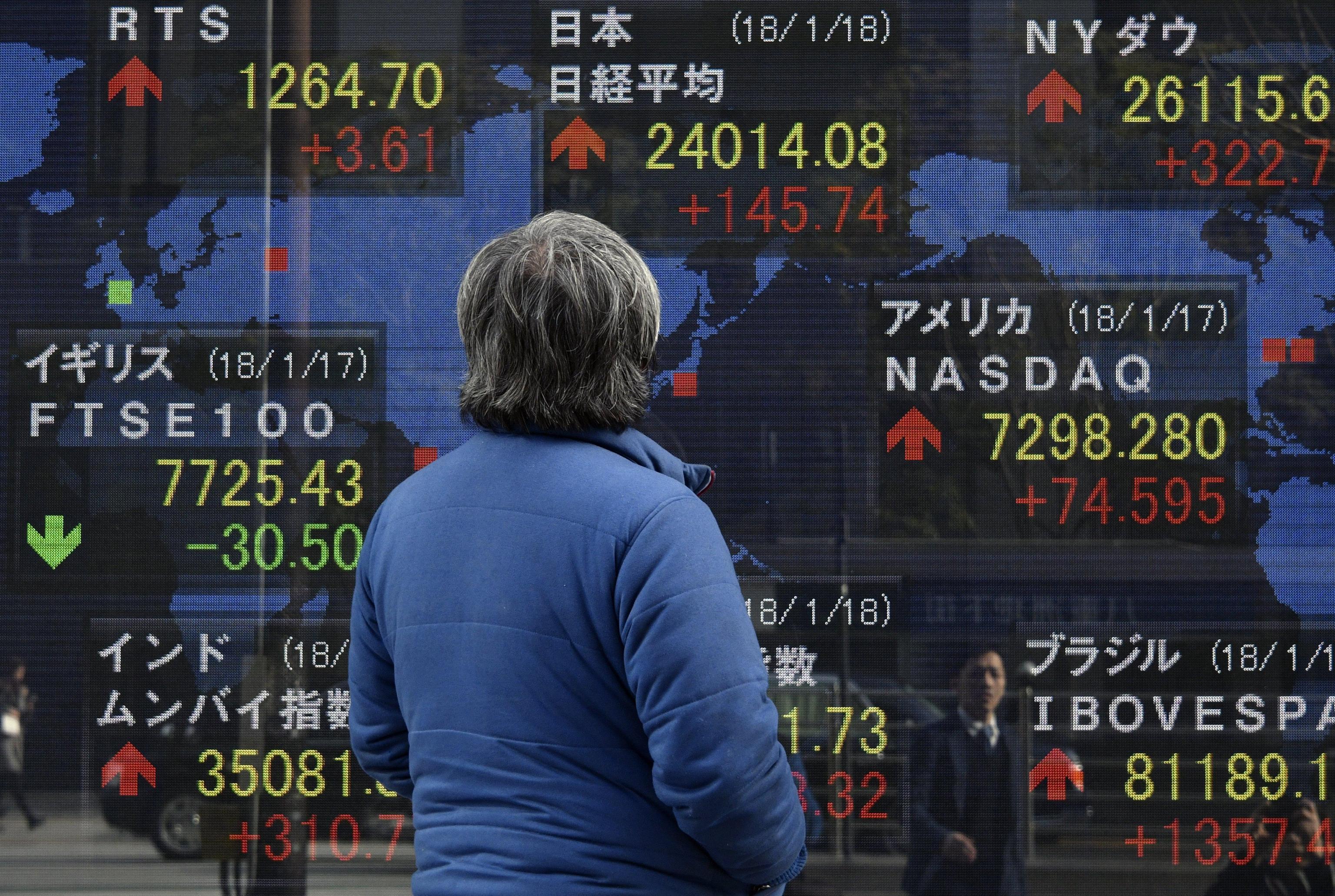 Borsa: Asia indecisa,Europa vista rialzo