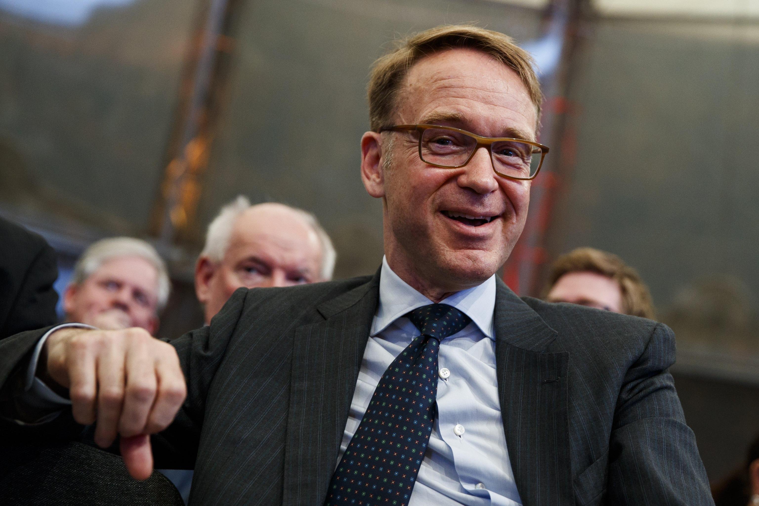Bce: Weidmann, fissare fine programma QE