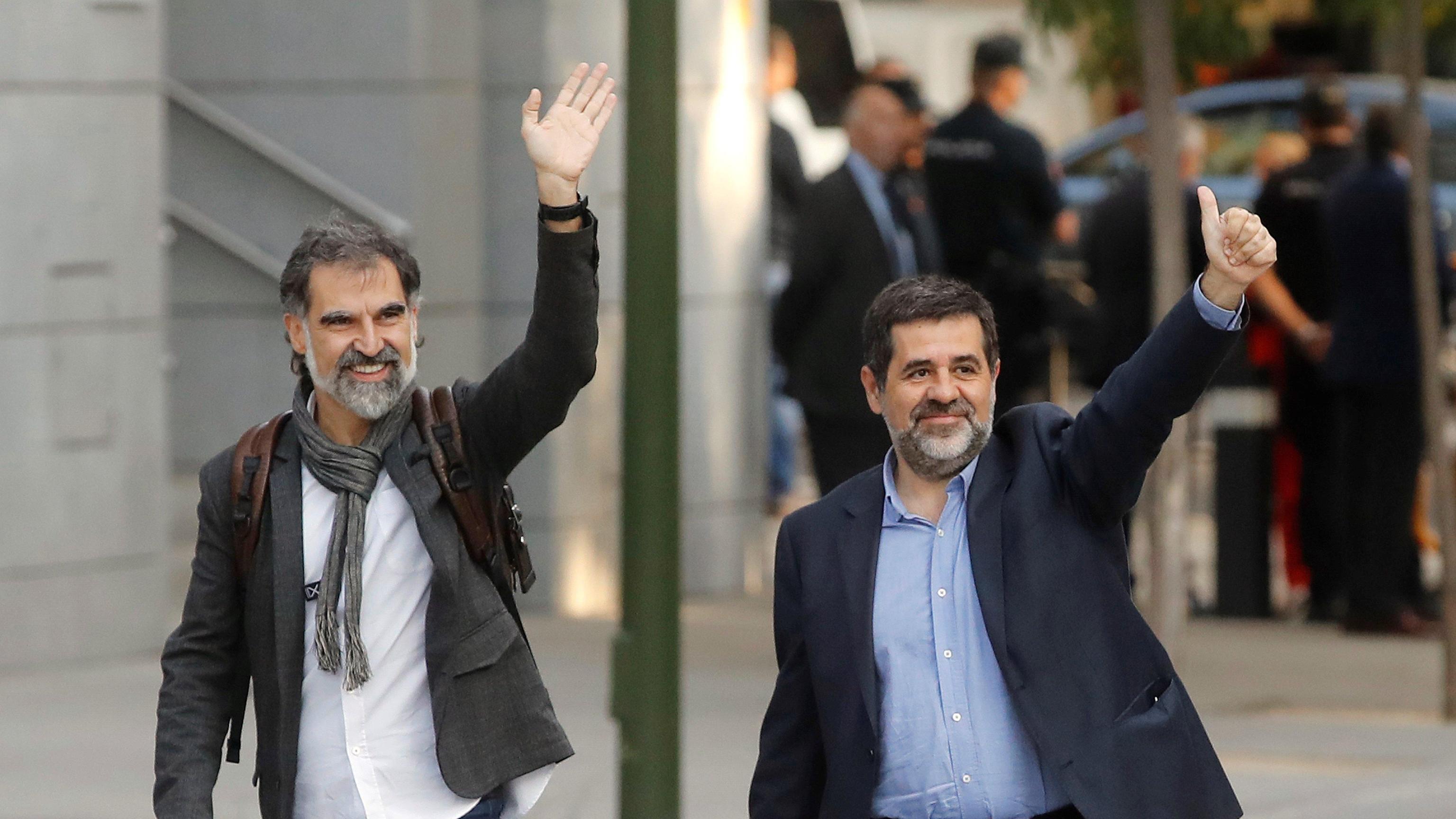 Catalogna: 'i due Jordi' ritrattano