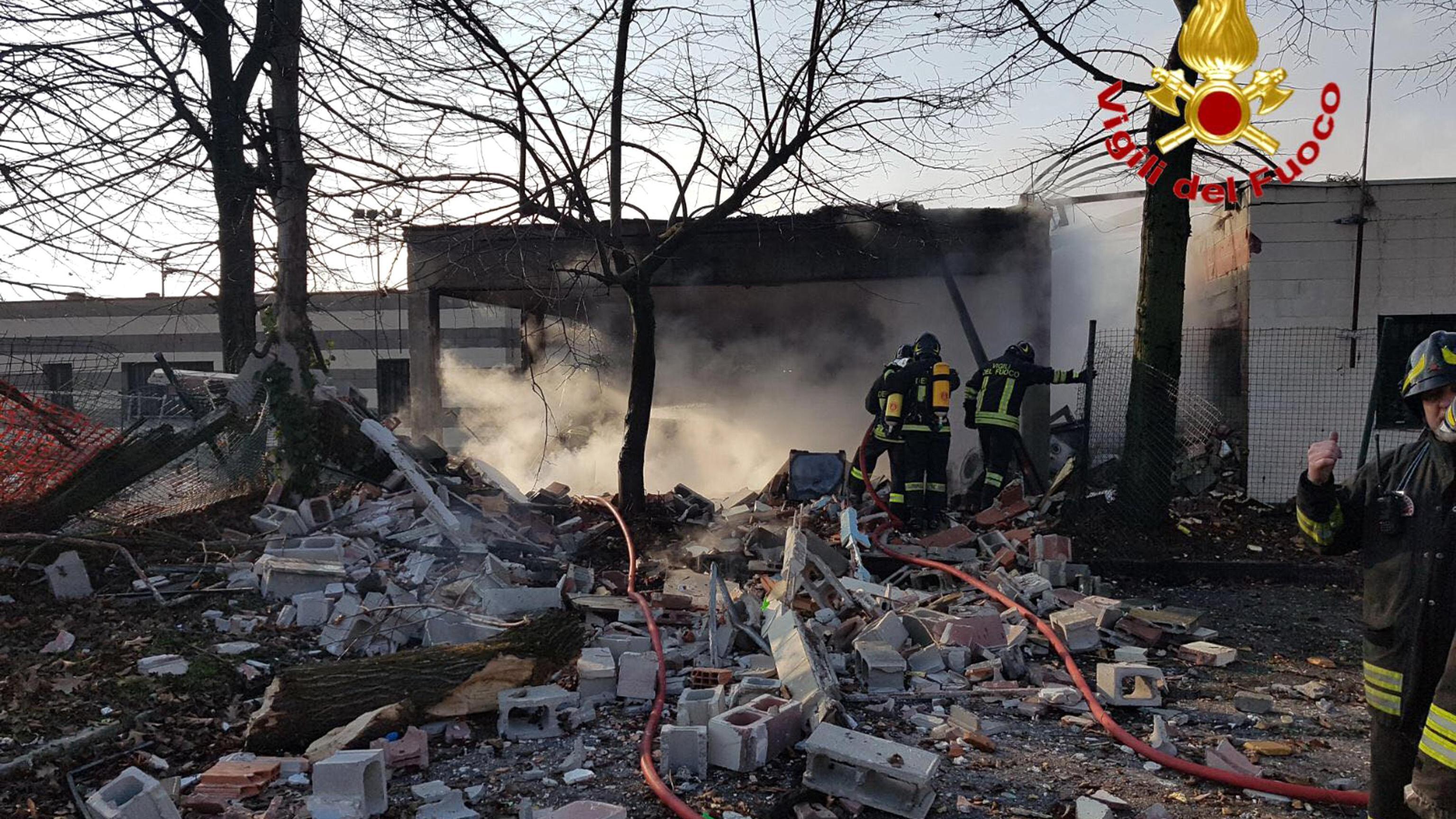 Esplosione in kartodromo, due ustionati