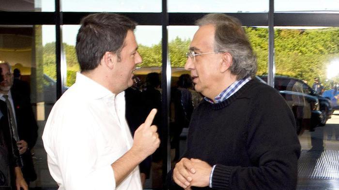 Marchionne: 'Il Renzi che appoggiavo non lo vedo più'