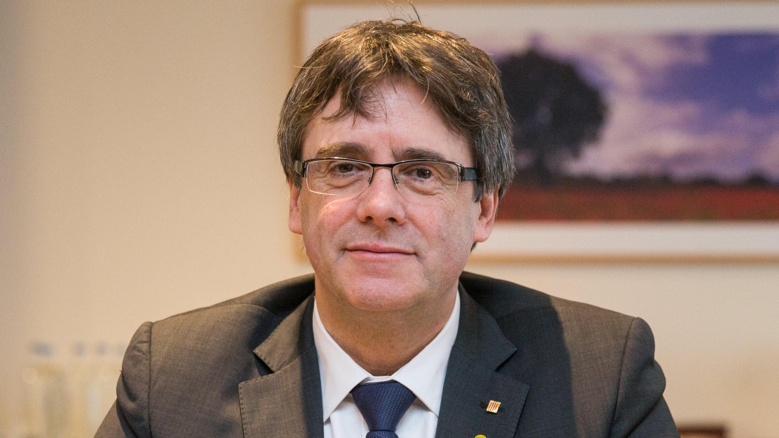 Puigdemont, posso governare da Bruxelles