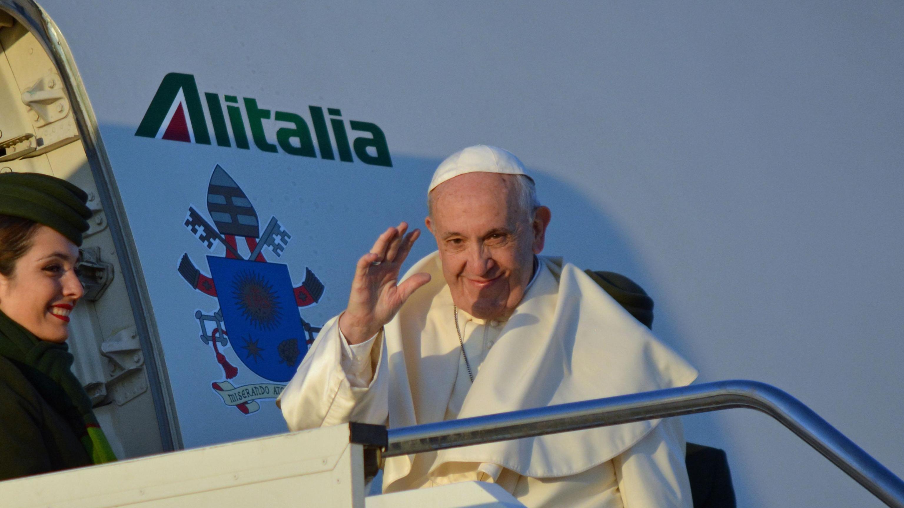 Papa partito per Cile e Perù