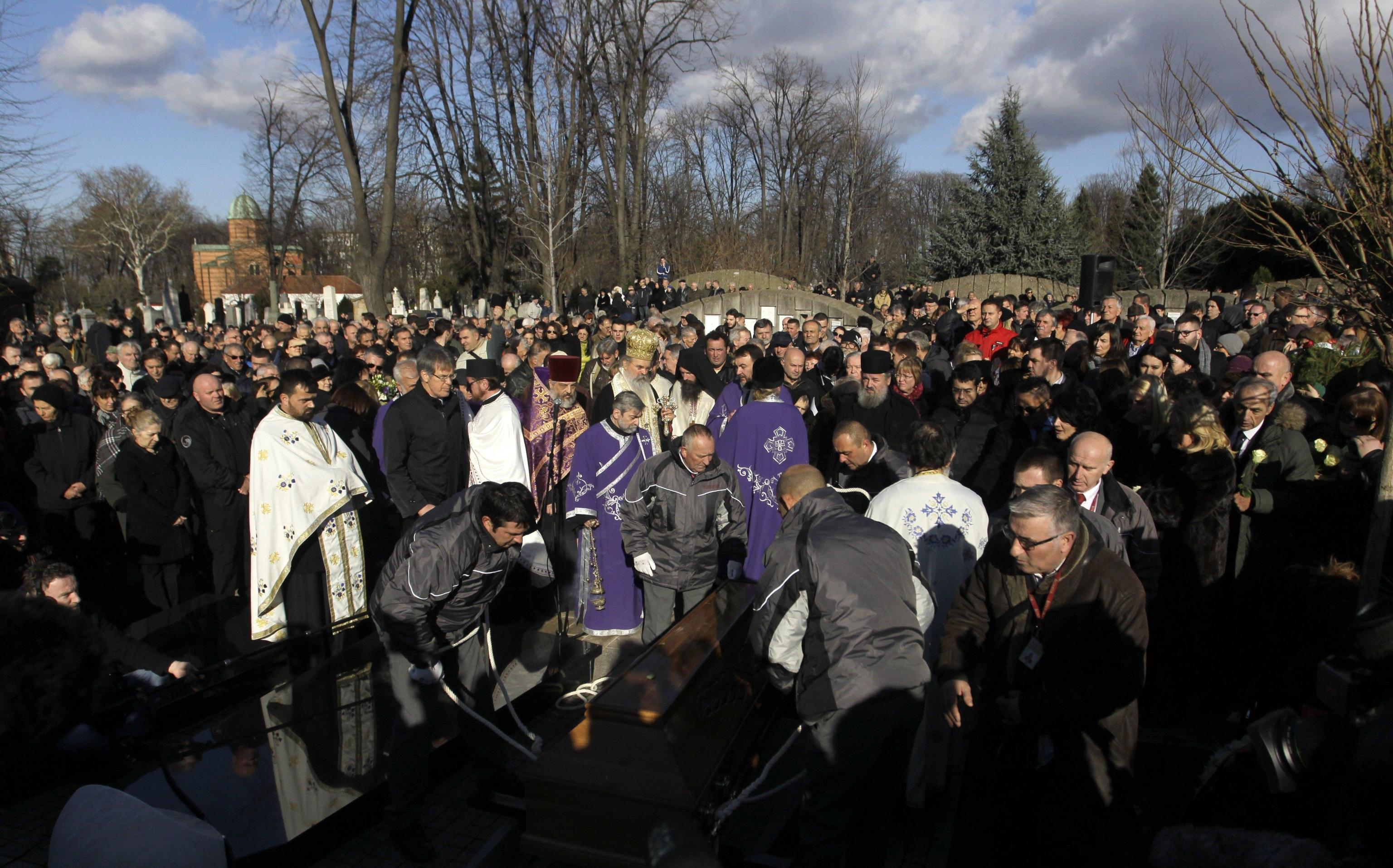 Folla a Belgrado per funerali Ivanovic