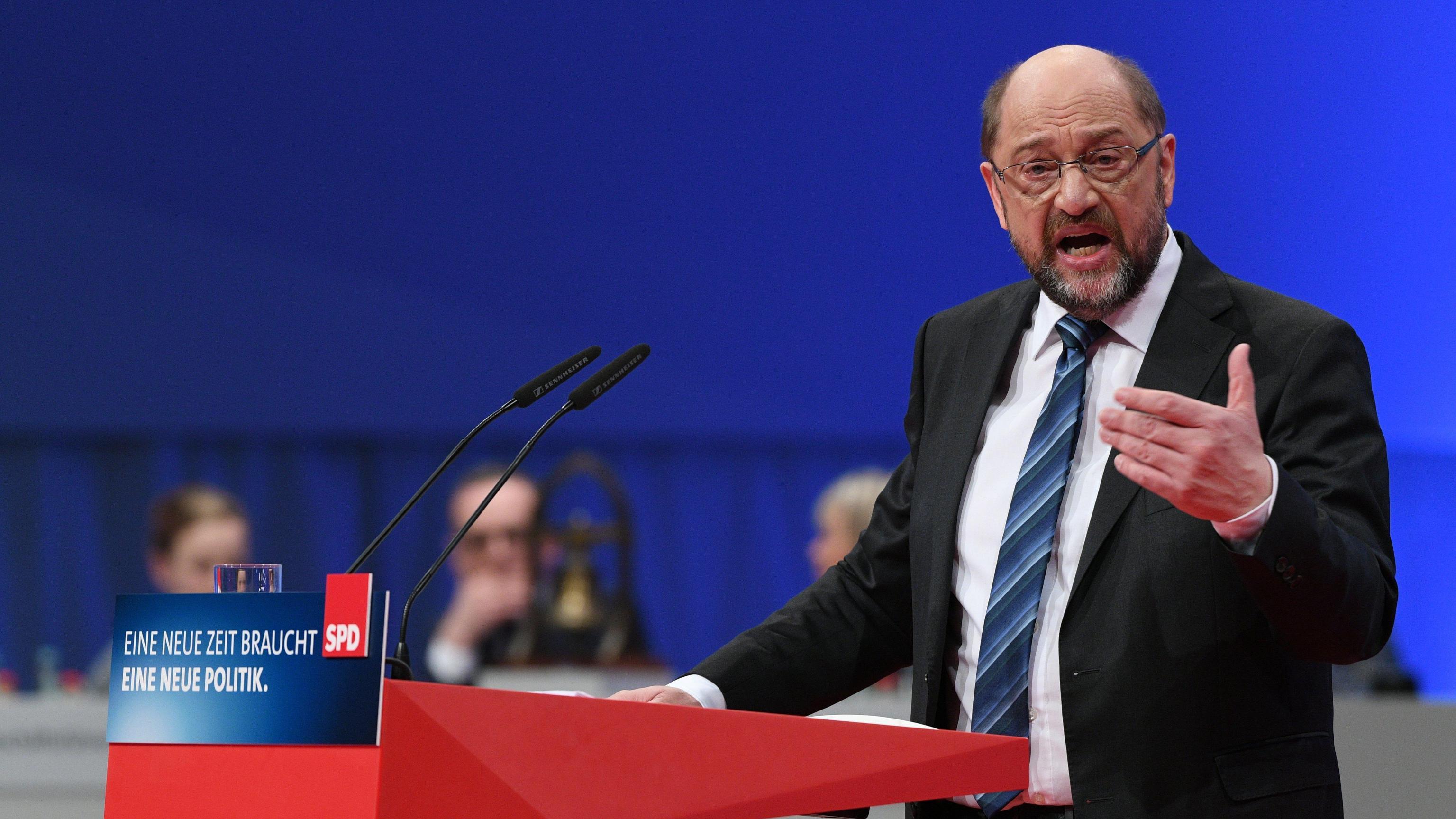 Schulz all'Spd, andiamo al governo