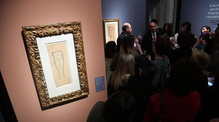 Perizia sui Modigliani esposti a Palazzo Ducale: 'Quadri falsi'