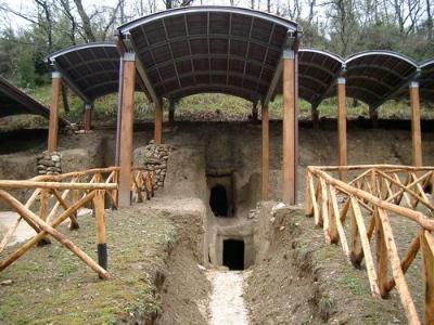 Nuova parte di necropoli a Montecchio