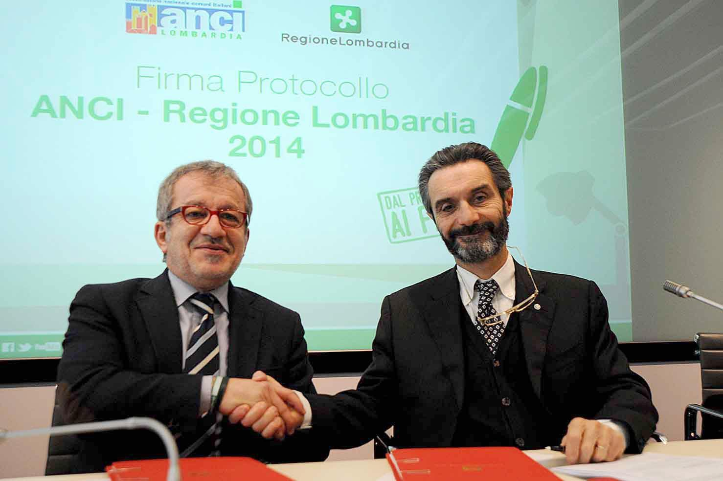 Fontana, grazie e W la nostra Lombardia