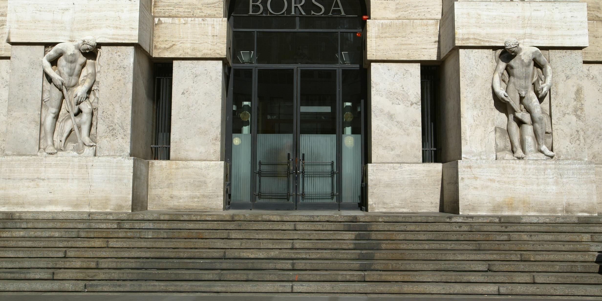 Borsa: Milano chiude in rialzo, +0,08%