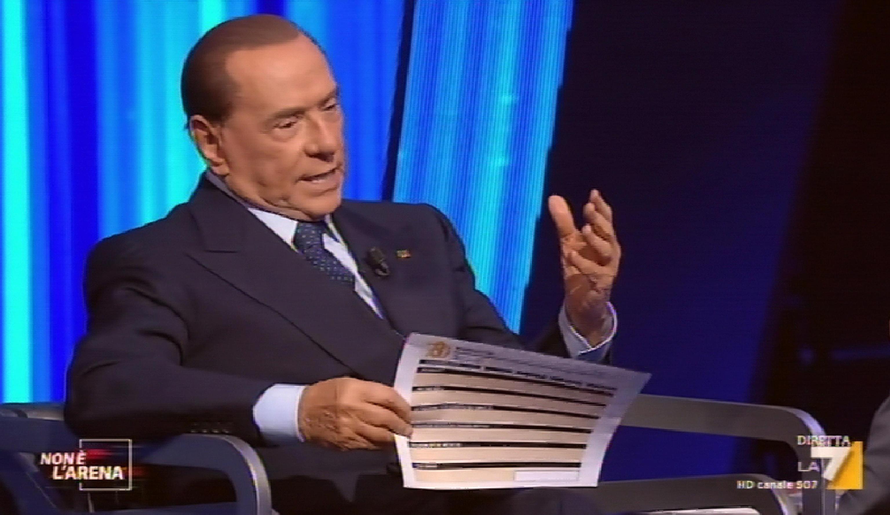 Berlusconi, rispetteremo deficit a 3%